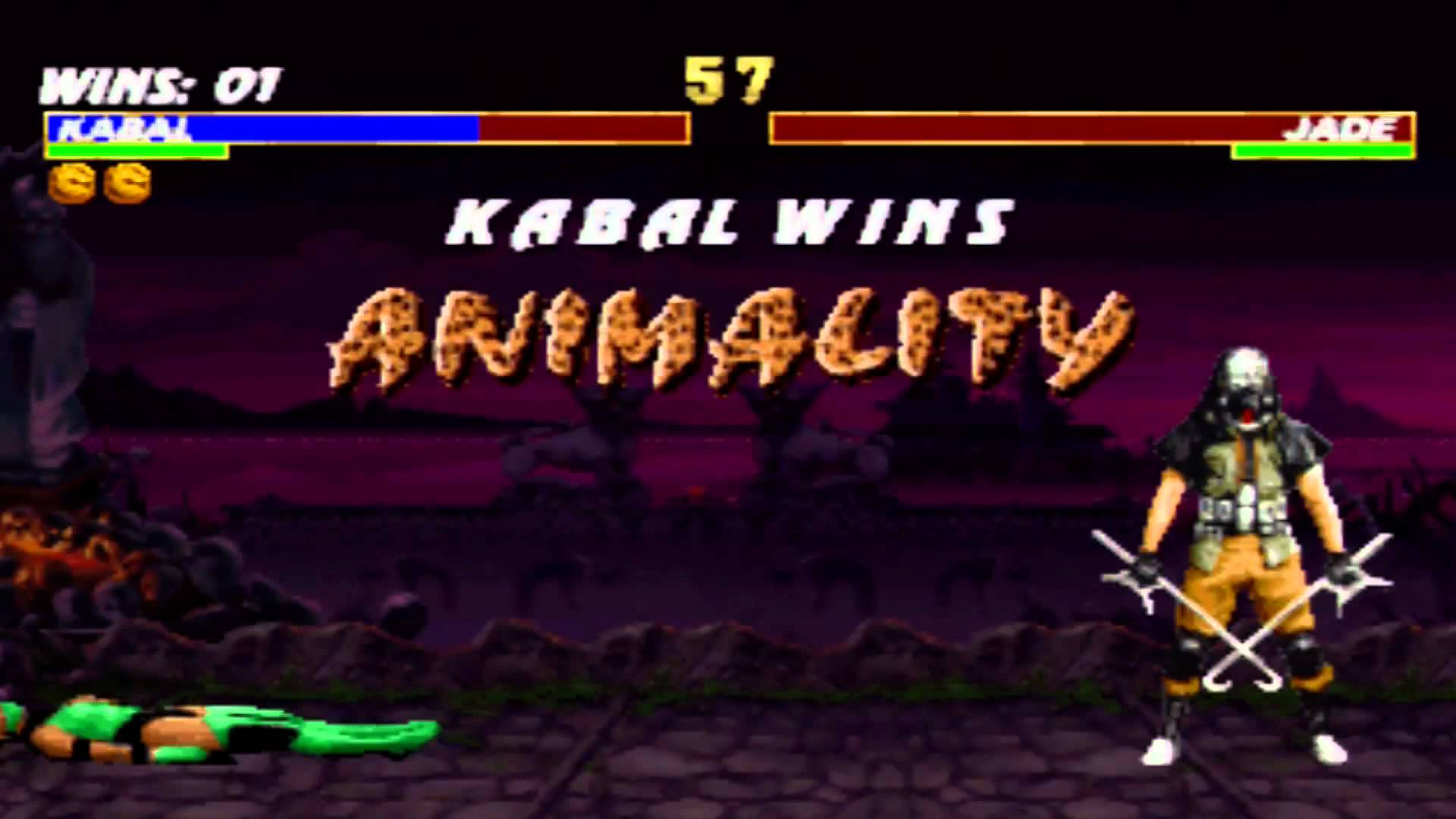 Screenshot Thumbnail / Media File 2 for Mortal Kombat Trilogy [NTSC-U]